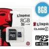 MicroSD Card 8GB Class 4
