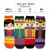 A030**พร้อมส่ง**(ปลีก+ส่ง) ถุงเท้าแฟชั่นเกาหลี ข้อสูง มี 4 แบบ เนื้อดี งานนำเข้า( Made in Korea)