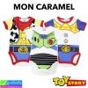 ชุด เด็กอ่อน MON CARAMEL Toy story เซ็ท 3 ตัว ราคา 210 บาท ปกติ 630 บาท