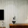 Wallpaper 3มิติ Wall-WE03 ลายไม้ขาว