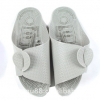 K018-GY **พร้อมส่ง** (ปลีก+ส่ง) รองเท้านวดสปา เพื่อสุขภาพ ปุ่มเล็ก แบบถอดประกอบได้ สีเทา ส่งคู่ละ 80 บ.
