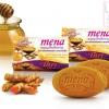 Mena Herbal soap - Curcumin & Honey สบู่ขมิ้นชันขัดผิวผสมน้ำผึ้ง มีนา 100 กรัม