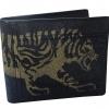 กระเป๋าหนังปลากระเบน ลายเสือเหลือง