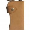 กระเป๋าสตางค์ยาว 2 พับ สีน้ำตาล แนว Cow Boy
