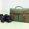 กระเป๋ากล้อง KR02 Green canvas (M)