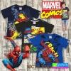 เสื้อยืดเด็ก MARVEL Kid : T Shirt MCTS 8222 ลดเหลือ 159-169 บาท ปกติ 500 บาท