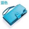 พร้อมส่ง กระเป๋าสตางค์ผู้หญิง ใส่บัตรได้เยอะ พร้อมสายคล้องมือ แฟชั่นเกาหลี ยี่ห้อ baellerry รหัส BA-64008 สีฟ้า 1 ใบ