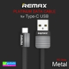 สายชาร์จ Type-C USB REMAX METAL RC-044a ราคา 99 บาท ปกติ 240 บาท