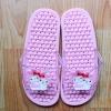 K016-PK **พร้อมส่ง** (ปลีก+ส่ง) รองเท้านวดสปา เพื่อสุขภาพ ปุ่มเล็ก ลายมายเมโลดี้ สีชมพู