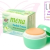 MENA Herbal Cream White Mineral Renewal ครีมมีนาเขียว 3 กรัม