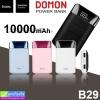 Hoco B29 Power bank แบตสำรอง 10000 mAh ราคา 325 บาท ปกติ 810 บาท