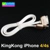 สายชาร์จ REMAX KingKong iPhone 4/4S RC-217i4 แท้ 100% ราคา 84 บาท ปกติ 250 บาท