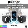 ลำโพง บลูทูธ PURIDEA i5 (1+1 Stereo) ราคา 1,600 บาท ปกติ 4,000 บาท