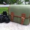 กระเป๋ากล้อง KR01 green canvas (M)