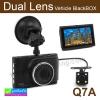 กล้องติดรถยนต์ Q7A Dual Lens Vehicle BlackBox DVR ลดเหลือ 1,310 บาท ปกติ 3,280 บาท