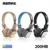 หูฟัง บลูทูธ ครอบหู REMAX 200HB Stereo headphone ลดเหลือ 749 บาท ปกติ 2,000 บาท
