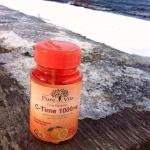 *Pure Vita C-Time 1000 mg เพียว ไวต้า ซีไทม์, วิตามินซีที่ดีกว่า 20 เท่า นำเข้าจาก แคนนาดา