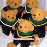 ตุ๊กตาหมีชุดครุย ตุ๊กตาหมีรับปริญญา ของขวัญรับปริญญา ม.เกริก ปริญญาตรี ไซด์ 14 นิ้ว