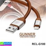 สายชาร์จ iPhone 5,6,7 Recci GUNNER RCL-G100 ราคา 130 บาท ปกติ 390 บาท