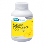 MEGA Evening Primrose Oil 1000mg เมก้า อีฟนิ่งพรีมโรสออยล์ 1000มก. บรรจุ100เม็ด