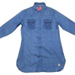( 6920 L) เสื้อเชิ้ตยีนส์หญิง
