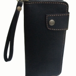 กระเป๋าสตางค์ยาว หนังวัวแท้ สีดำ แบบด้าน เรียบง่าย ทันสมัย คุ้มค่า ด้วยช่องใส่บัตรต่างๆหลายช่อง