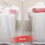 เสื้อโปโล อาร์เซนอล สีขาว RNW