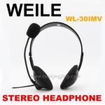 หูฟัง WEILE WL-30IMV