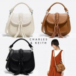 Charles&Keith TASSEL SADDLE BAG (NEW Arrival!)