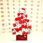 D.I.Y. - การ์ดคิตตี้ (Kitty Tree Standing Card)