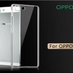 เคส OPPO R5 ซิลิโคลนนิ่มฝาหลังใส