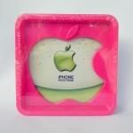 กรอบรูป apple สีชมพู ขนาด 18*18 ซม. รหัส 1692