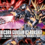 HG 1/144 RX-0 Unicorn Gundam 02 Banshee [Destroy Mode]