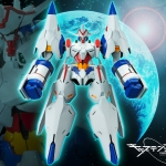 Captain Earth - Earth Engine Impacter Plastic Model