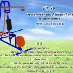FT-39 อุปกรณ์จักรยาน บริหารแขน-หน้าอก-หัวไหล่ (แบบดึงยกตุ้มน้ำหนัก)