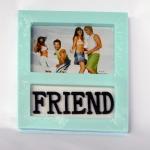 กรอบรูป friend สีฟ้า รหัส 1678