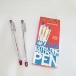 ปากกา faster -606 สีแดง แพ็คโหล