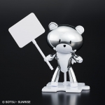 HG 1/144 [Gundam Base Limited] Petit'gguy Silver Sparkle & Placard