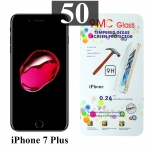 ฟิล์มกระจก iPhone 7 Plus 9MC แผ่นละ 29 บาท (แพ็ค 50)