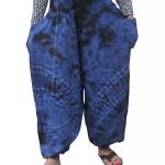 กางเกงแม้วมัดย้อม เซอร์ๆ สบายๆ ขอบยืด เอวใหญ่ ลวดลายไม่เหมือนใคร!! !!!FREE SIZE!!!