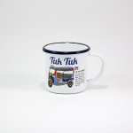 "Iconic Thai Enamel Mug ""Tuk Tuk"""
