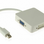 3 in 1 Mini-Displayport to HDMI / DVI / VGA Adapter