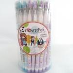 ดินสอต่อไส้มียางลบลายหมี (ขายส่งกระป๋อง 50 ด้าม)