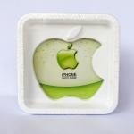 กรอบรูป apple สีขาว ขนาด 13.5*13.5 ซม. รหัส 1691