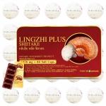 Lingzhi Plus Shiitake หลินจือ พลัส ชิตาเกะ รุ่น 30 เม็ด