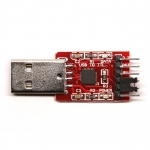 USB 2.0 to TTL (CP2102) UART 6-Pin Module Serial Converter