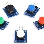 5 Colored Button Modules