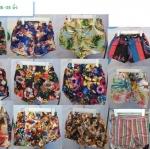ยกถุงกางเกงลายดอกขาสั้นเอวยืด26-35นิ้วคละแบบส่ง 30 ตัวๆละ 69 บาทยอดโอนรวมส่งแล้ว 2270บ.