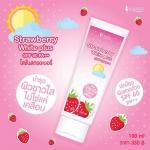 """Strawberry White plus SPF60PA+++ By Sumanee โลชั่นสตรอเบอรี่ """"บำรุงผิวขาวใสไม่ใช่แค่เคลือบ"""""""