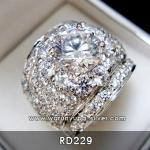 แหวนเพชรหญิง 2 กะรัต RD229